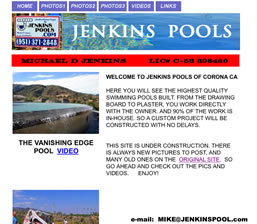 Jenkins Pool Construction
